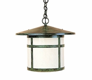 Arroyo Craftsman BH-14 Berkeley Outdoor Chain Hung Pendant Light - 12.625 inches tall
