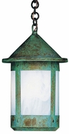 Arroyo Craftsman BH-14TL Berkeley Outdoor Chain Hung Pendant Light - 24.75 inches tall