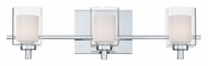 Quoizel KLT8603C Kolt 3 Lamp Contemporary Vanity Lighting Fixture - 21 Inches Wide