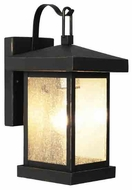 Trans Globe Traditional Seeded Exterior Wall Lighting Fixture - Weathered Bronze