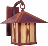 Arroyo Craftsman TRB-16AR Timber Ridge 16 inch Outdoor Wall Sconce with Arrow Filigree