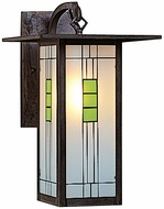 Arroyo Craftsman FB-9L Franklin Craftsman Outdoor Wall Sconce - 15.125 inches tall