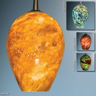 Bruck Bolero Art Glass Pendant