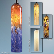 Bruck Chianti Art Glass Pendant