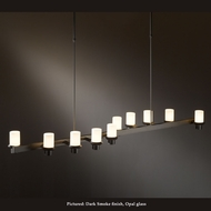 Hubbardton Forge 13-4915 Staccato Large 58 Inch Long Island Lighting - Wave Arrangement