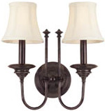 Hudson Valley 8712 Yorktown 2 Light Wall Sconce