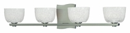 Hudson Valley 2664 Cove Neck 4 Lamp 27 Inch Wide Xenon Transitional Vanity Lighting For Bathroom