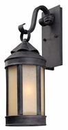 Troy B1461AI Anderson's Forge Outdoor Wall Lantern - 5.25 inches wide
