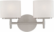Hudson Valley 8902 Trinity Contemporary 2 Light Halogen Bath Fixture