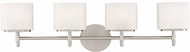 Hudson Valley 8904 Trinity Contemporary 4 Light Halogen Bath Fixture