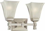 Hudson Valley 1172 Kirkland Contemporary 2 Light Bathroom Fixture