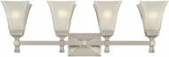 Hudson Valley 1174 Kirkland Contemporary 4 Light Bathroom Fixture