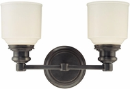 Hudson Valley 3402 Windham Contemporary 2 Light Bathroom Fixture