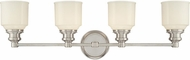 Hudson Valley 3404 Windham Contemporary 4 Light Bathroom Fixture