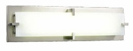 PLC 814 Polipo/T5 Contemporary Fluorescent Vanity Light - 27 inches wide