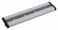 Maxim 89941AL CounterMax MX-L-LPC 12 Inch Long Brushed Aluminum LED Under Cabinet Light