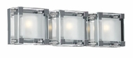 PLC 18143 Corteo Contemporary 3 Light Vanity Light