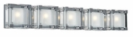 PLC 18145 Corteo Contemporary 5 Light Vanity Light