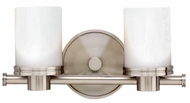Hudson Valley 2052 Southport Twin Shade Contemporary Vanity Light