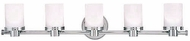 Hudson Valley 2055 Southport 5 Light Contemporary Vanity Fixture