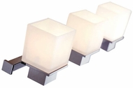 Hudson Valley 4443 Milford 3 Light Contemporary Halogen Bathroom Fixture