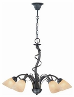 Lite Source LS18570 Wavia 5-light Contemporary Chandelier