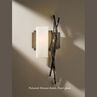 Hubbardton Forge 20-7670L Brindille Rustic Left Facing Wall Sconce Light Fixture - 18.9 Inches Tall