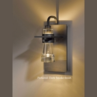 Hubbardton Forge 20-7710 Erlenmeyer 9.4 Inch Tall Thick Glass Cone Wall Sconce