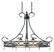 Kenroy Home 91562RBRZ Countryside Royal Bronze Finish 40 Inch Wide Potholder Kitchen Island Lighting