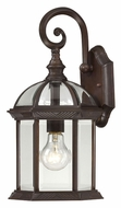 Nuvo 604962 Boxwood Rustic Bronze Finish 15 Inch Tall Outdoor Wall Light - Small