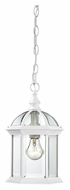 Nuvo 604977 Boxwood 8 Inch Diameter Traditional Outdoor Hanging Lamp - White