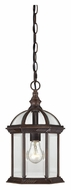 Nuvo 604978 Boxwood Outdoor Rustic Bronze 8 Inch Diameter Drop Lighting Fixture
