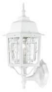 Nuvo 604924 Banyon Exterior 17 Inch Tall Traditional Outdoor Lighting Sconce - White