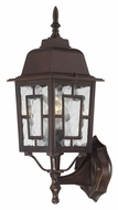 Nuvo 604925 Banyon Rustic Bronze Finish Water Glass Outdoor Wall Light Fixture