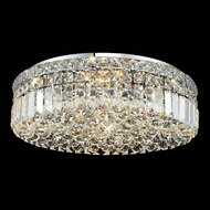 Elegant 2030F20C-RC Maxim Large 20  Crystal Flush Mount Ceiling Light Fixture