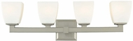 Hudson Valley 6204 Soho Contemporary Halogen 3 Light Bath Fixture