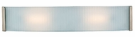 Access 62042-BS Helium 24 inch Modern Acid Frost Halogen Bathroom Light Fixture