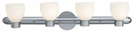 Access 23904 Luna 4-Light Contemporary Bathroom Light