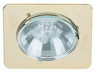 Lite Source LS1203PB Mini Lite Polished Brass Finish 2 Inch Wide Recessed Light Fixture