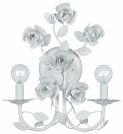 Crystorama 532WW Cypress Floral Contemporary Wall Sconce