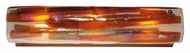 Meyda Tiffany 115524 Marina Fused Glass 24 Inch Tall Contemporary Sconce Lighting - Contemporary