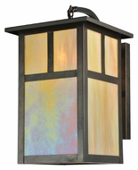 Meyda Tiffany 110798 Hyde Park T Mission 10 Inch Wide Craftsman Sconce Lighting