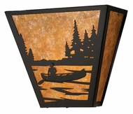 Meyda Tiffany 23941 Canoe on the Lake Rustic Wall Sconce