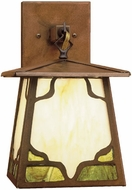 Meyda Tiffany 50525 Kirkpatrick by Mackintosh Leaf 1 Bulb Tiffany Lantern Wall Sconce Lighting Fixture