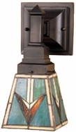 Meyda Tiffany 48181 Comanche 1 Bulb Reversible Sconce Lighting Fixture