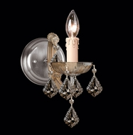 Crystorama 4471 Maria Theresa 5 inch wall sconce in Antique brass finish
