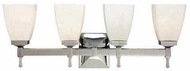 Hudson Valley 654 Kent 4 Light Vanity Fixture