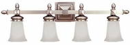 Hudson Valley 2824 Cumberland 4 Light Vanity Fixture