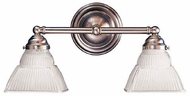 Hudson Valley 4512 Majestic 2 Light Vanity Fixture with Square Glass Shade
