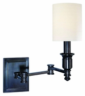 Hudson Valley 7511 Whitney Swing Arm 14 Inch Tall Wall Lamp Lighting